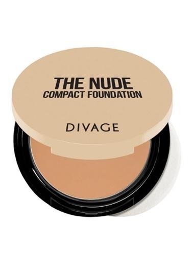 Divage Divage The Nude - Kompakt Fondöten 02 Renkli